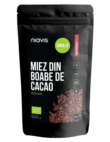 NIAVIS ECO MIEZ BOABE CACAO CRIOLLO 125G