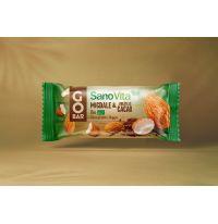 GoBar Baton Bio de fructe cu migdale și bucățele cacao 30g