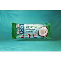GoBar Baton Bio de fructe cu cocos & chia 30g