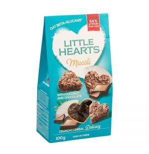 LITTLE HEARTS CU COCOS SI CIOCOLATA 100 gr