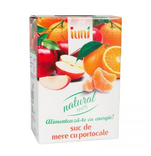 SUC NATURAL DE MERE+PORTOCALE 3L