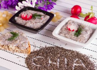 Salata de icre din seminte de chia