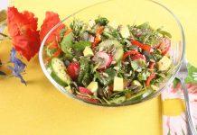 Salata de primavaracu dressing de mustar