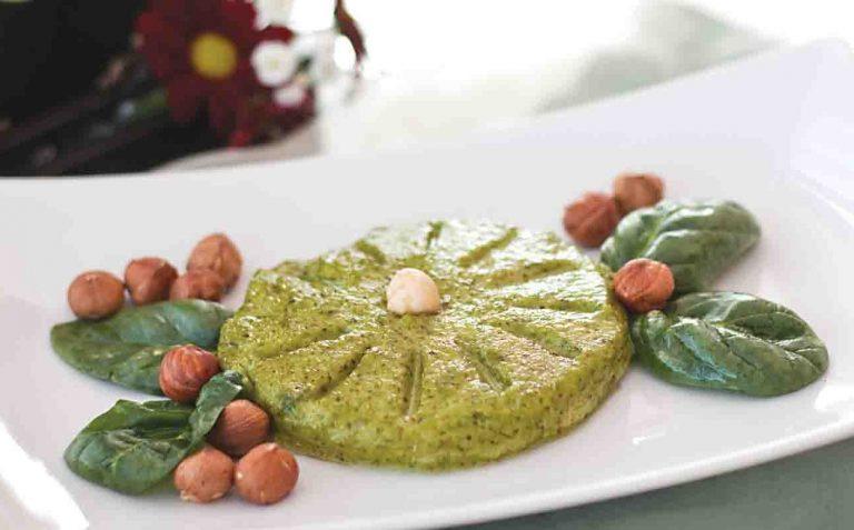 Pate vegetal de alune cu spanac
