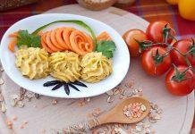 Pate vegetal de linte rosie