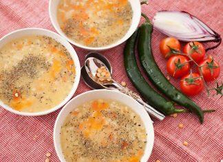 Supa de mazare galbena