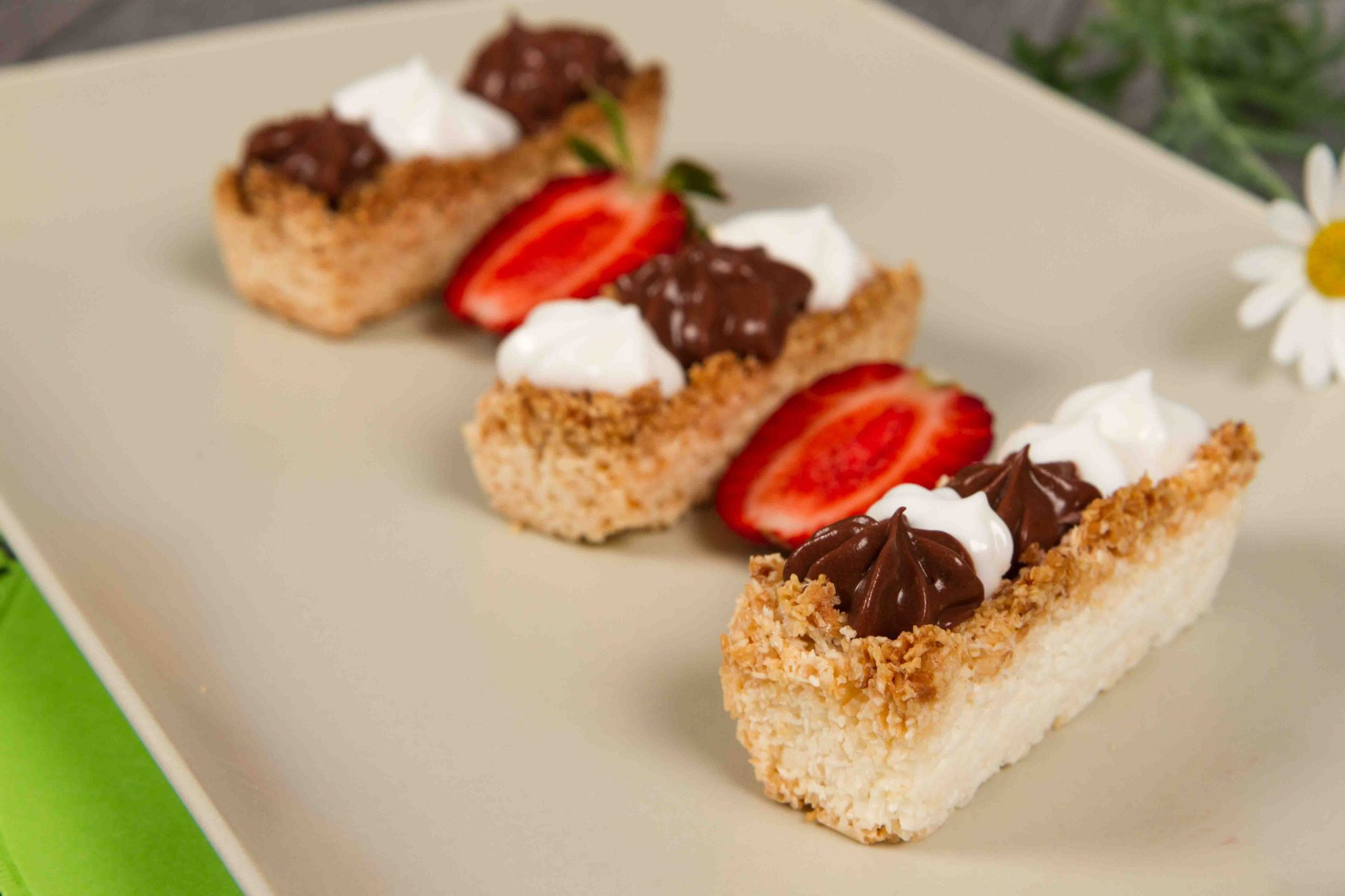 Crusta de cocos pentru tarte