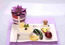 Icre vegetale de soia cu ceapa