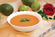 Supa de linte cu rosii
