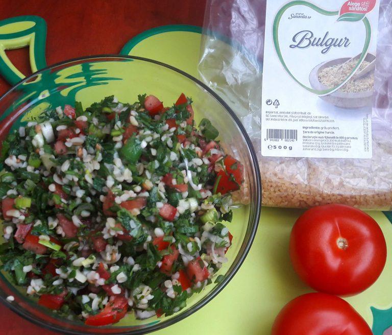Salata Tabbouleh cu bulgur