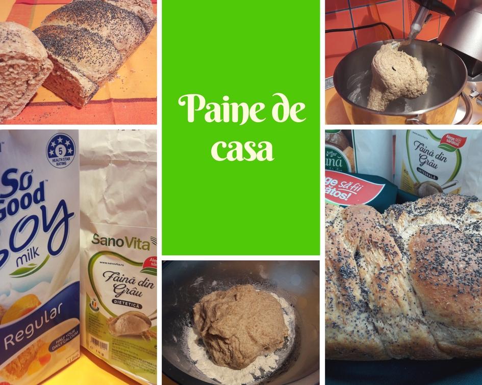 Paine impletita preparata cu lapte vegetal
