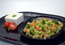 Quinoa cu dovlecel si broccoli