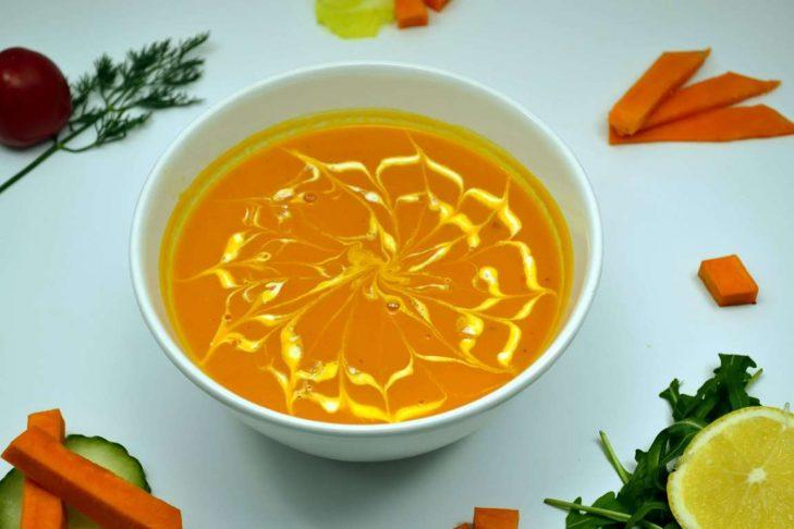 Supa thailandeza de dovleac