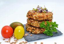 Chiftelute vegane cu nuca si seminte
