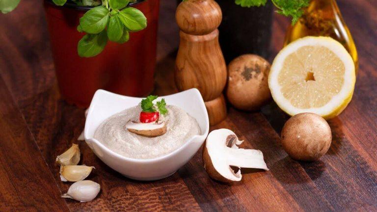 Pasta de tofu cu ciuperci – reteta video
