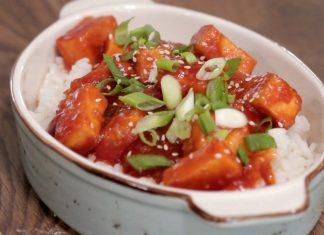 Tofu dulce-acrisor