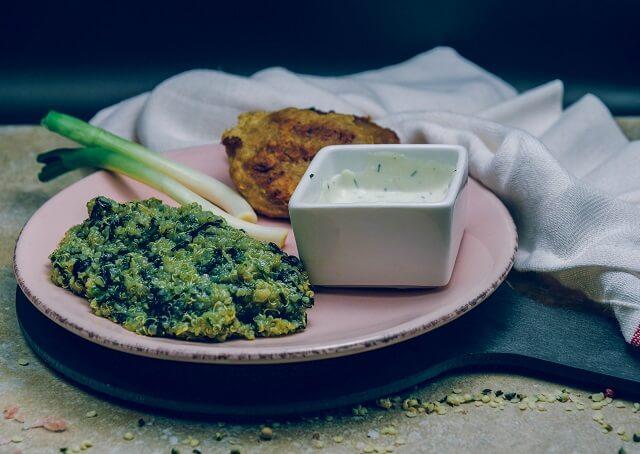 Mancarica de spanac si quinoa