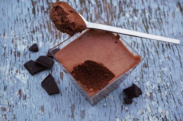 mousse de ciocolata aerat