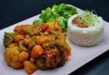 ghiveci de legume indian