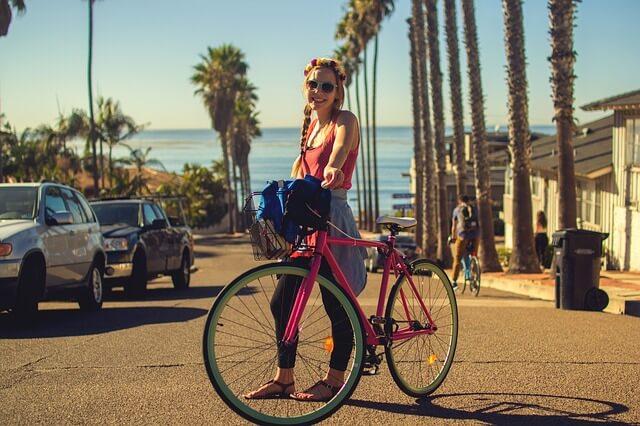 bicicleta aer liber