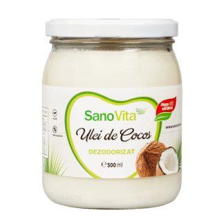 ULEI DE COCOS DEZODORIZAT 500 ML Unt vegan