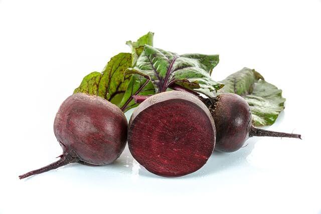 sfecla rosie antioxidanti