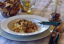 risotto cu ciuperci