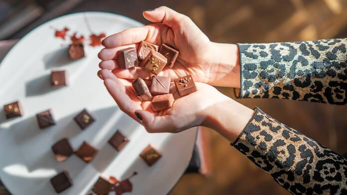 bomboane de ciocolata (cu ulei de cocos)