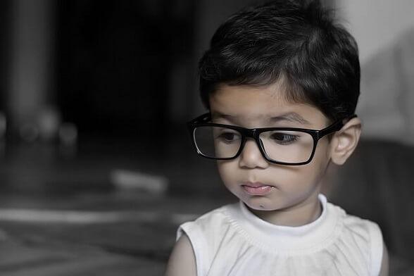 ochelari de vedere copil