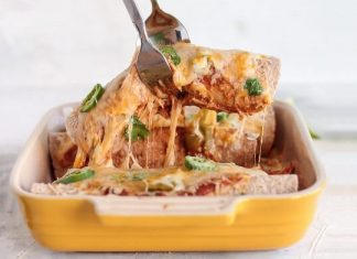enchiladas cu fasole