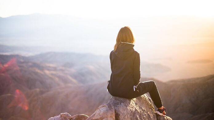 urcat pe munte