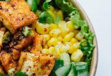 salata de tofu marinat