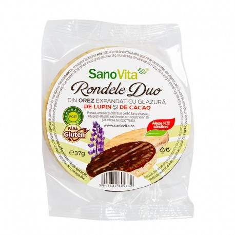 RONDELE DUO LUPIN SI CACAO