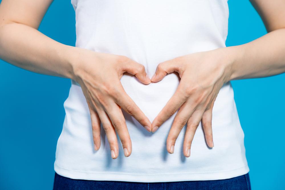 microflora intestinala, poza stomac femeie