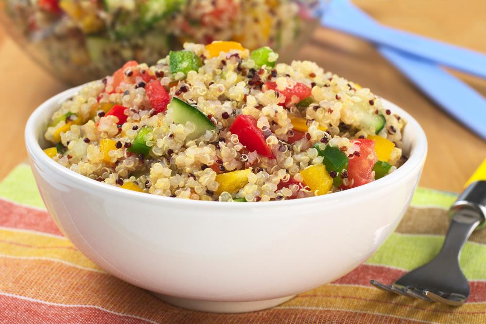 Salată de toamnă cu Quinoa