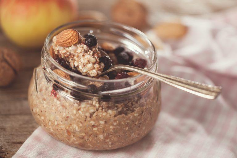 Desert din hrișcă pentru micul dejun