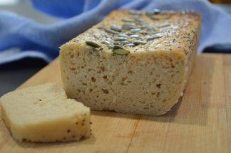 Pâine fără gluten din făină de orez