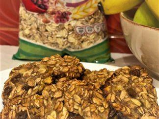 Ceva dulce - Biscuiți din musli, banane și miere