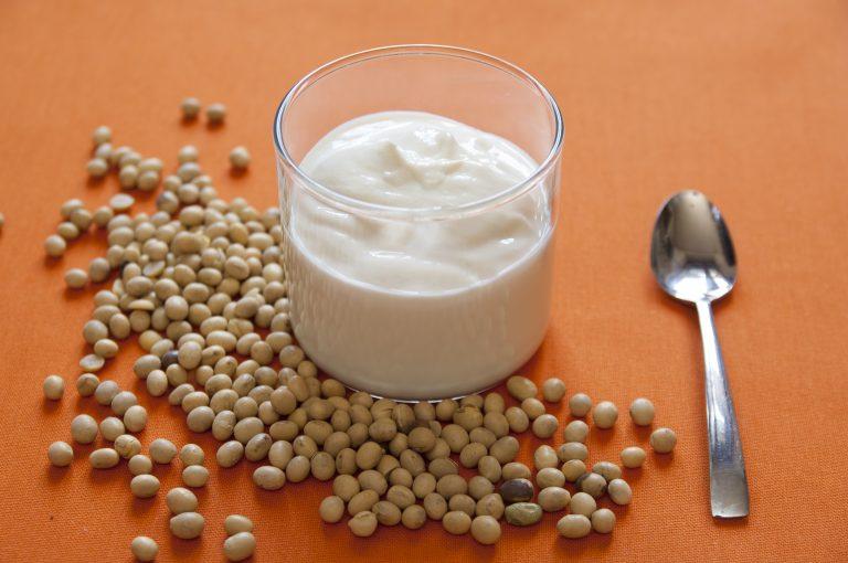 Iaurt de casă din băutură de soia