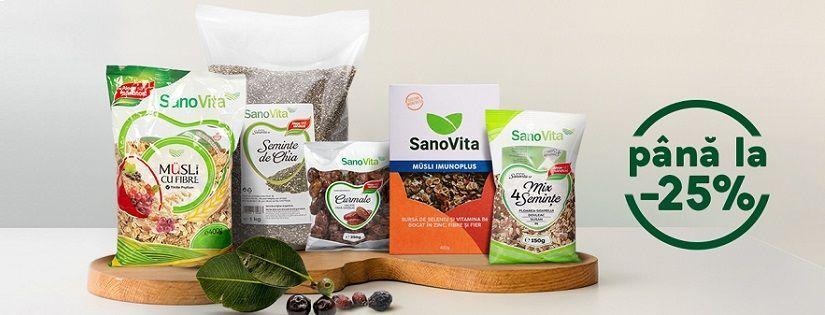 Intareste-ti Imunitatea cu produsele SanoVita!
